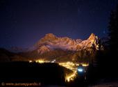 Notte su San Martino di Castrozza