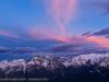 il fluttuare di un tramonto