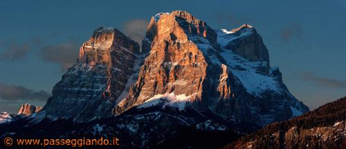 Il Pelmo e la Val Zoldana