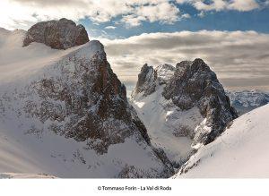La Val di Roda, tra Pala di San Martino e Cima di Ball
