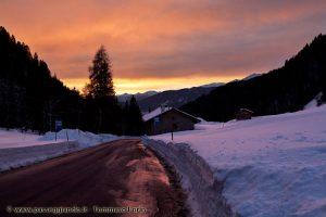 tramonto da Passo Cereda