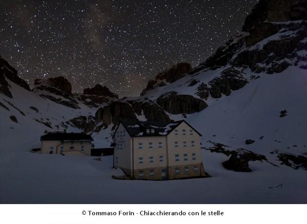 Rifugio Vajolet, nel silenzio della notte