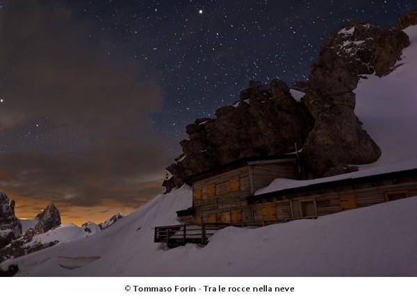 Rifugio Passo Principe - Tra le rocce sotto la neve