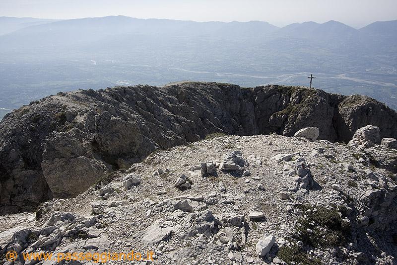 La vetta del Pizzocco, 2186m
