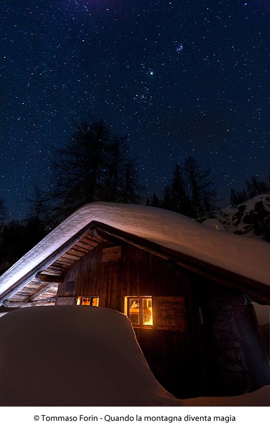 La baita e il cielo stellato